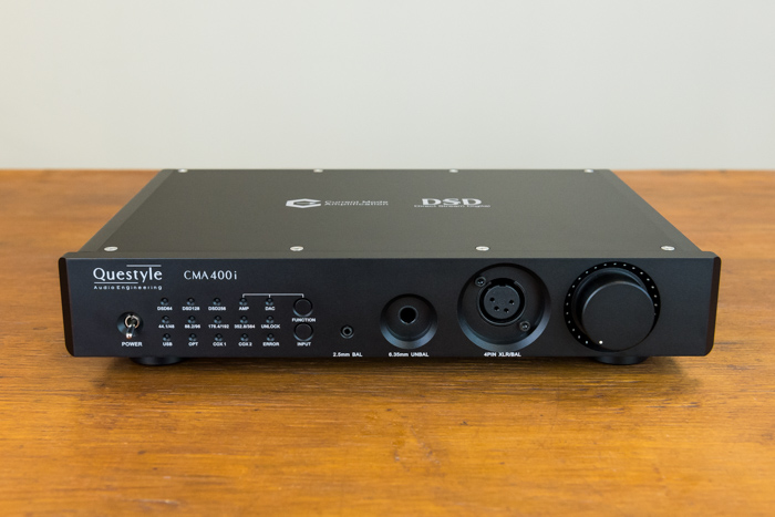 Questyle CMA400i DAC / Headphone Amplifier Review