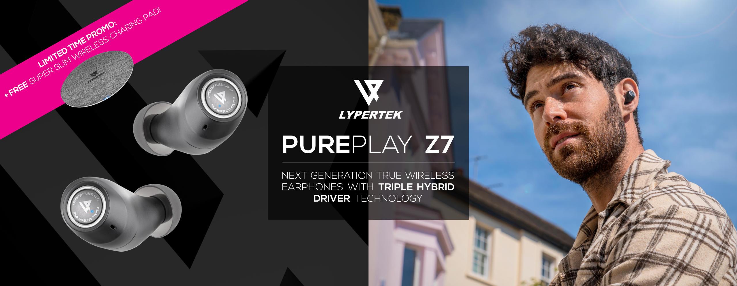 Lypertek PurePlay Z7 True Wireless Earphones