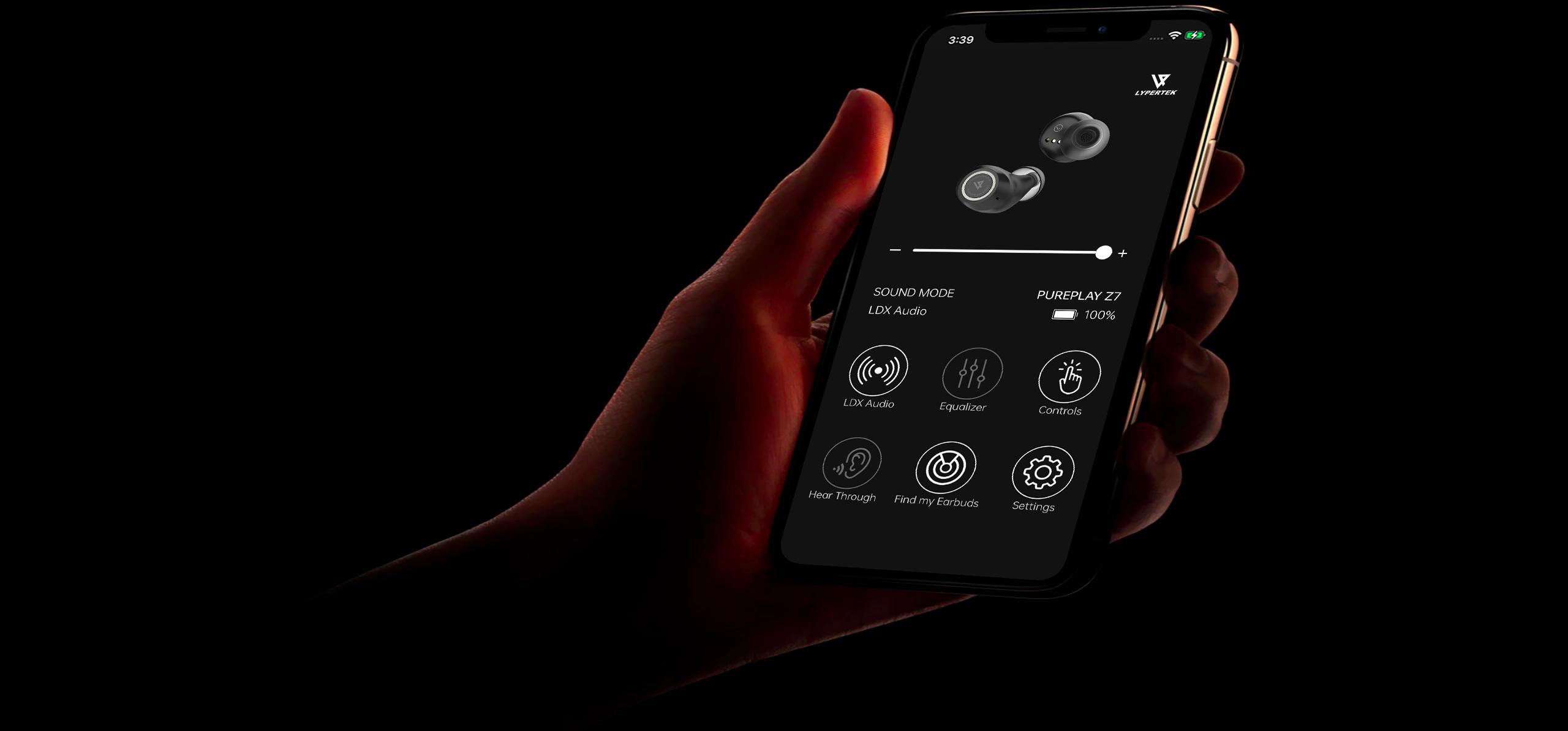 Lypertek Purecontrol App
